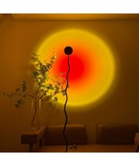 Minimalism Sunset Floor lamp Mood Light Projector Atmosphere LED Lamp Wall Decor - $149.00