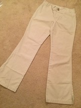 Banana Republic Khaki Martin Fit Pants Size 6 Dress Or Casual Trousers (H21) - $14.84