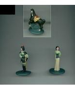 Disney Mulan mini cake toppers/PVC figures toothpaste premium khan - $9.00