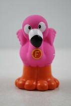 """FISHER PRICE LITTLE PEOPLE Alphabet Zoo Letter """"F""""  Flamingo - $3.95"""