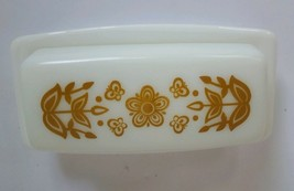 Vintage Pyrex Butterfly Gold Butter Dish - $23.56