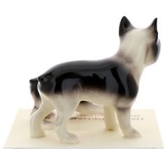 Hagen-Renaker Miniature Ceramic Dog Figurine Boston Terrier & Boston Terrier Pup image 2