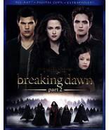 The Twilight Saga: Breaking Dawn - Part 2 (Blu-ray Disc, 2013) - $3.95