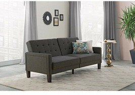 Sleeper Sofa Bed Fabric Tufted Convertible Couch Lounger Modern Living R... - $507.80