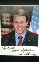Senator Don Nickles Hand Signed Autograph Photo - $10.00