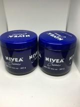 2 NIVEA Crème Unisex Moisturizing Cream 13.5oz opened Bs11 - $8.59