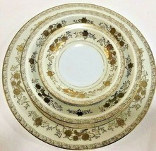 "Vintage Harmony House ""GOLD CREST""  Fine China Japan 43 Piece Service Se... - $395.01"