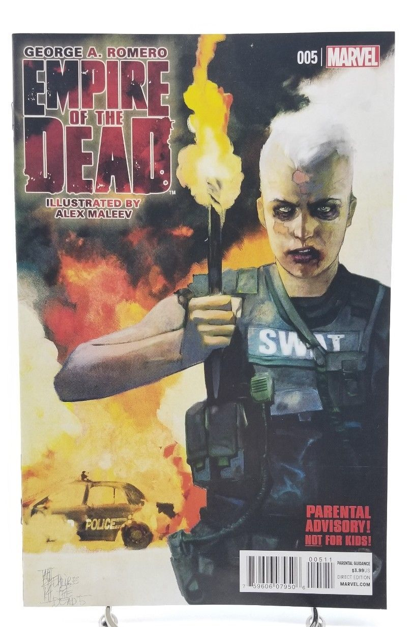 Empire of the Dead 1 2 3 4 5 Complete Set 1-5 Act One 2014 Marvel Comics Romero