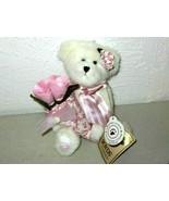 "Boyds Bears ""Blooms O Hope"" #95362LB - 9"" Plush Bear-Longaberger LE- 201... - $29.99"