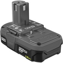 Ryobi P189 One+ 18V Lithium Ion 1.5AH 27WH Battery Works W/ALL One+ Tools - New! - $34.95