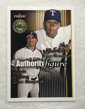 Alex Rodriguez Travis Hafner /1750 2001 Fleer Authority Figures #13 B95 364 - $6.65