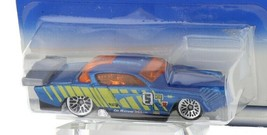 1998 Hot Wheels First Editions Blue AT-A-Tude Sutdebaker Style Stock Car
