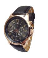 Geneva Brand Watches Round Dial Exquisite Ladies Watch BlacK Face - $24.95
