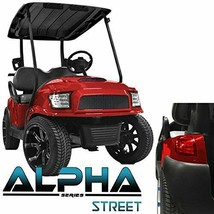 Golf Cart Club Body Kit Alpha Off Road Style Red Car Precedent 2004-Up M... - $979.02