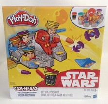 Play Doh Disney Star Wars Millenium Falcon Featuring 5 Can Heads Hasbro Sealed - $22.23