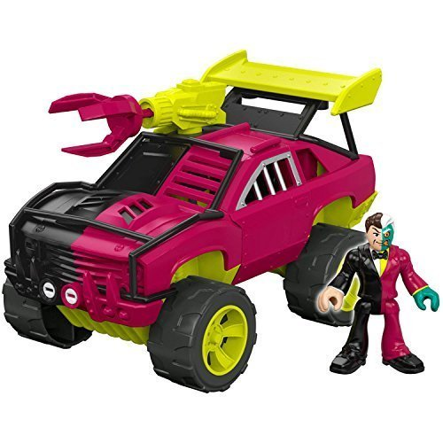 Imaginext DC Super Friends Streets of Gotham City - TWO-FACE and SUV - $55.00