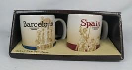 STARBUCKS COFFEE Global Icon Coll. BARCELONA & SPAIN 3oz Demitasse Espre... - $44.99