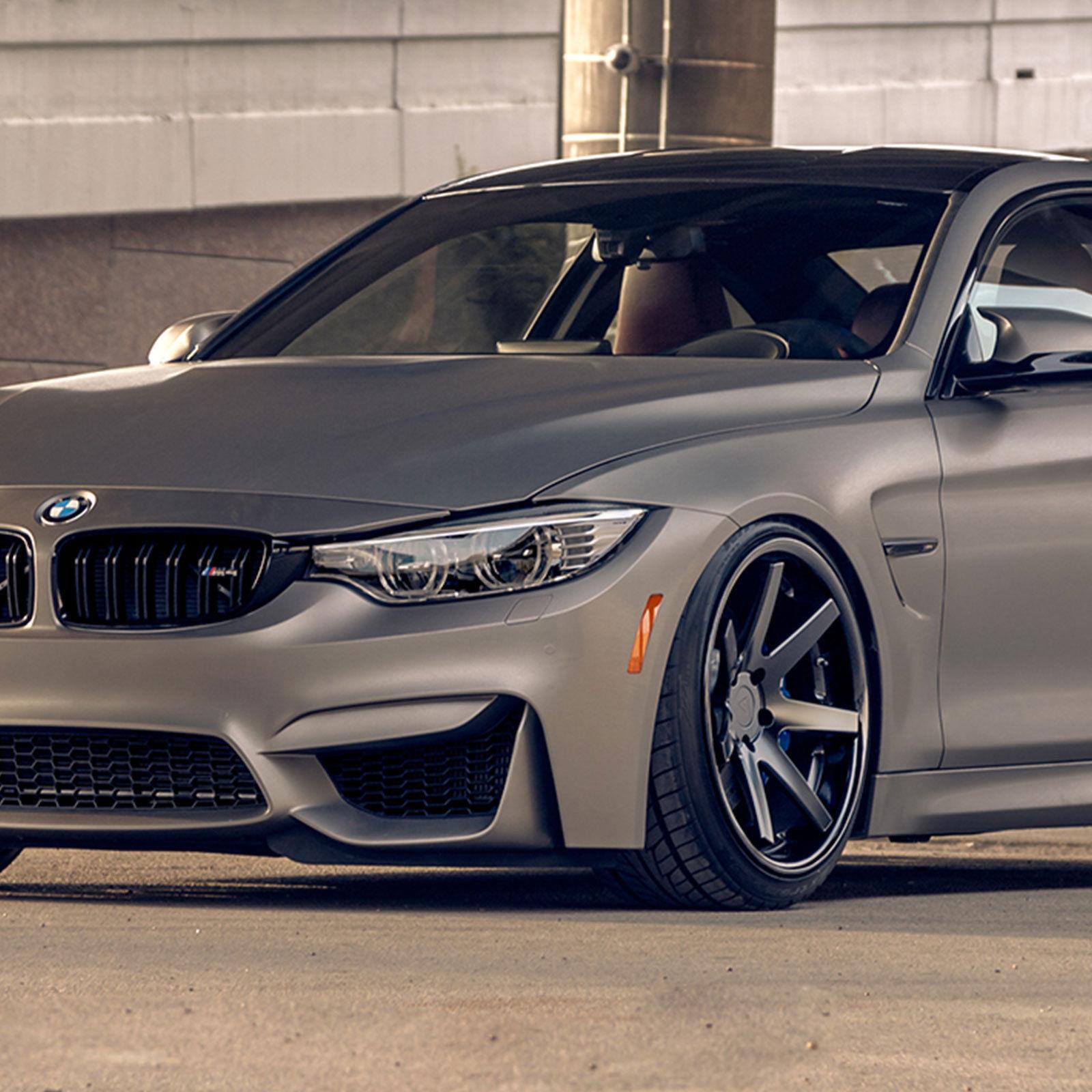 """20"""" Ferrada FR3 20x9/10 Matte Black Wheels For BMW X3 & X4"""