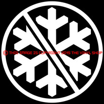 NO SNOWFLAKES Donald Trump President 2016 Vinyl Decal Bumper Sticker AR15 - $3.25