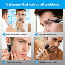 Nose Hair Trimmers Eyebrow Trimmers Ear Hair Trimmers Electric Shavers 4 in 1 US image 2