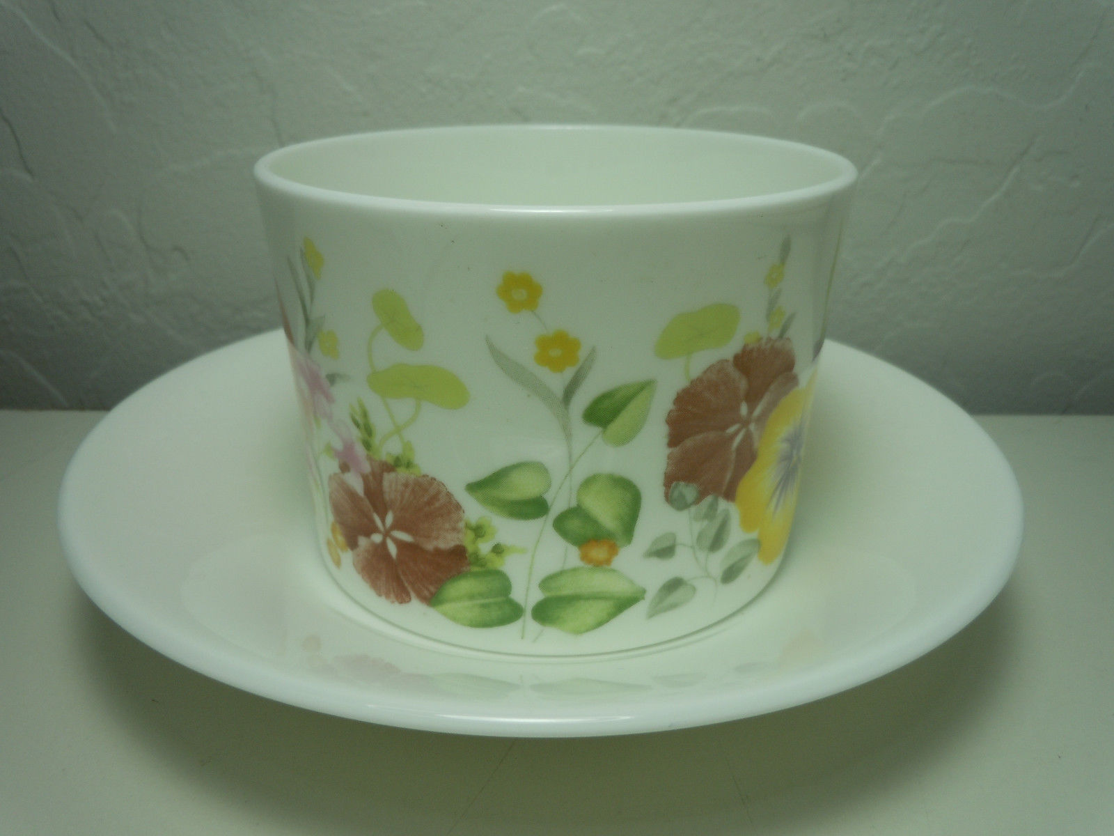 Wedgwood Summer Bouquet Cup and Saucer Set