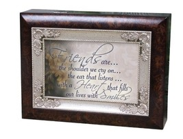 Cottage Garden Italian Inspired Music Box - Friends Plays That's What Fr... - $34.68