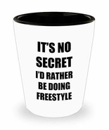 Freestyle Shot Glass Sport Fan Lover Funny Gift Idea for Liquor Lover Al... - $9.87