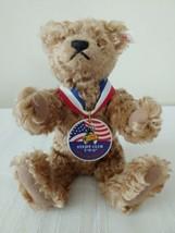 Steiff Sammi Bear 1997 Steiff Club 5th Anniv. 10in Cinnamon Mohair EAN 665196  - $47.41