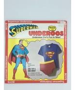 Superman Underoos Vintage 1980 New Boys Medium 6-8 DC Comics Rare - $98.99