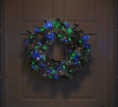 Phillips Twinkling 30 ct Battery powered Multicolored Dew Drop Christmas Lights image 4
