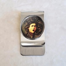 Medusa by Caravaggio Greek Mythology Stainless Steel Money Clip - $20.00