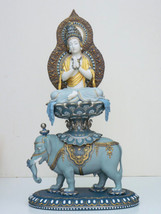 Lladro 1927 WISDOM OF BUDDHA High Porcelain Perfect condition - $5,617.26