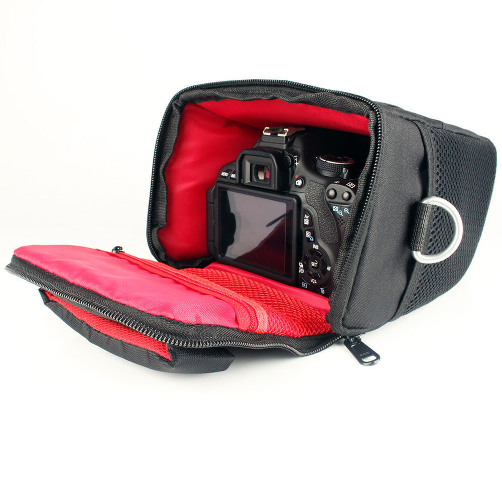 Camera Bag Case Canon Digital Single Lens Reflex EOS 1300D 1200D 1500D 760D 750D