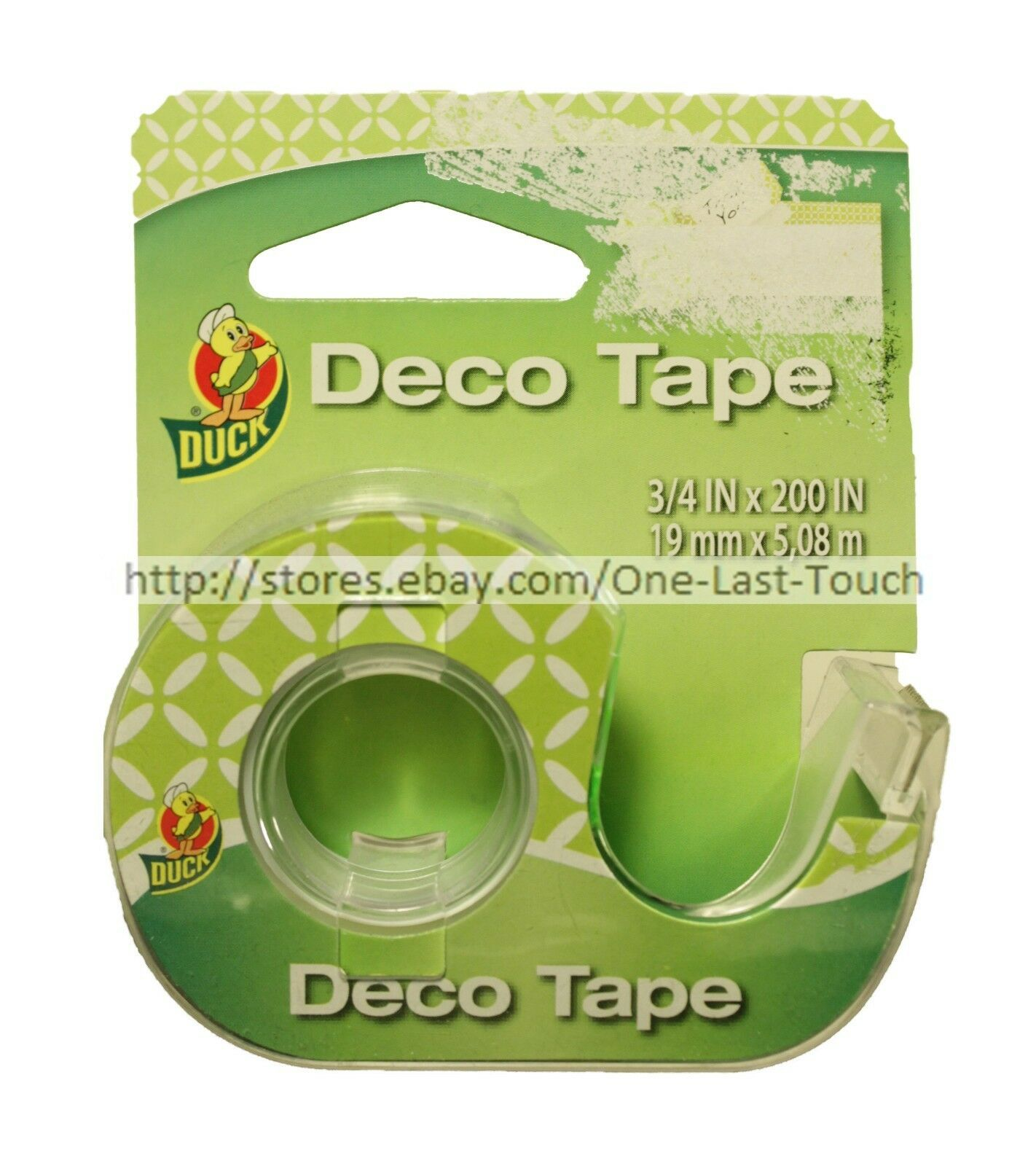 DUCK* Decorative DECO TAPE Handheld Dispenser GLOSSY FINISH New! *YOU CHOOSE* image 4
