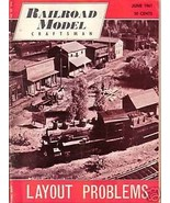 Railroad Model Craftsman Magazine June 1961 - $2.50