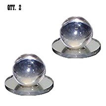 Clear Acrylic Large Ball Stick-On Mirror Knob - Pack of  2 - $29.95