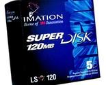 Imation SuperDisk 120MB Windows/DOS/IBM formatted (5-Pack)