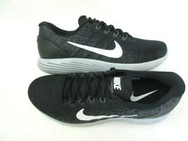 Nike Mens Lunarglide 9 Running Shoes Black White Dark Grey Size 11 90471... - $89.09