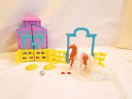 2002 Origin Products Polly Pocket Stable horse  Accessories - $21.78