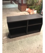 47 1/2 Inches By 25 Inches Shelf Or Bookcase Black Color Local Pick Up Only - $16.23