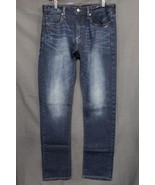 NEW Men's AE Slim Jeans Faded Medium Blue Wash American Eagle Outfitters... - $21.94