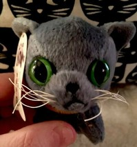 2005 The Cat McDonalds Happy Meal Plush Toy Russian Blue #3  Rare! - $10.60