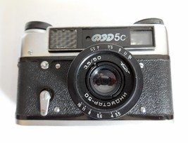 Fed 5C Film Camera with Industar 50mm Lens,  Camera collectors - $19.00