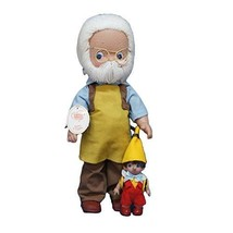 "Precious Moments Geppetto Doll, 7"" - $22.94"