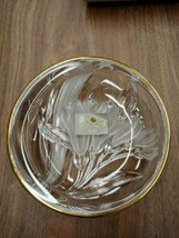 """STUDIO NOVA Gilded Iris WY331/507 Riund Candy Dish 5"""" - Made in Japan New in Box - $15.67"""