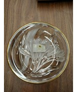 "STUDIO NOVA Gilded Iris WY331/507 Riund Candy Dish 5"" - Made in Japan Ne... - $15.67"