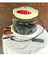 Nuwave Infrared Oven Model 20334 Entire Set Working All Parts White Dome - $18.81