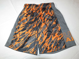 Under Armour active gym shorts boys Loose Heatgear Youth YSM S 1299998 870  - $18.70
