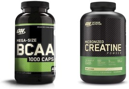 Instantized BCAA Capsules Amino Acids with Creatine Monohydrate 400 Count - $54.99