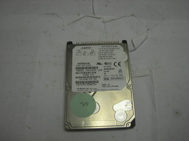 "5K809 Hitachi, Ltd Hitachi DK23DA-20F 20GIG IDE LAPTOP HARD DRIVE 2.5"" 4... - $3.75"